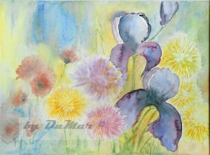 div. Blüten