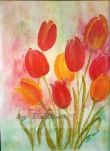 Tulpen Acryl